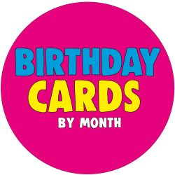 Birthday Cards – By Month